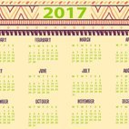 Small 1x dd 2017 decorative calendar 65456 preview