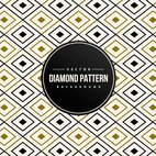 Abstract Diamond Shape Pattern Background