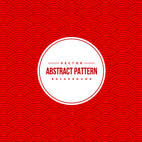 Abstract Chinese Pattern Background