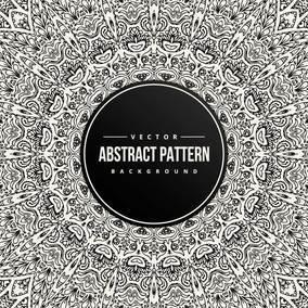 Abstract Mandala Pattern Background