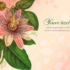 Beautiful Vintage Flower Illustration