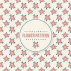 Cute Flower Pattern Background