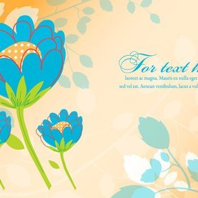 Cute Floral Illustration