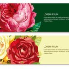 Beautiful Floral Banners