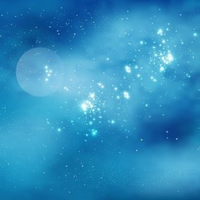 Beautiful Space Background Illustration