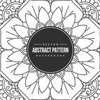 Abstract Drawn Pattern Background