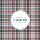 Colorful Plaid Pattern Background