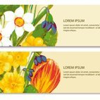 Small 1x dd floral banners 88934 preview
