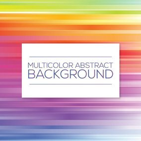 Multicolor Striped Background
