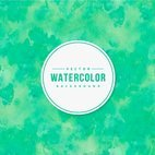 Bright Green Watercolor Background