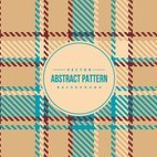 Colorful Plaid Background Pattern