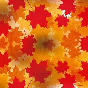 Bokeh Autumn Vector Background