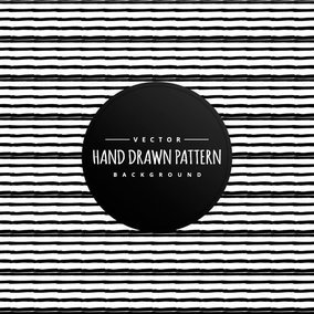 Hand Drawn Style Lines Background