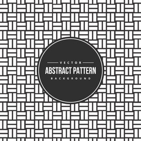 Black and White Woven Pattern Background