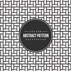 Tiled Black and White Pattern Background