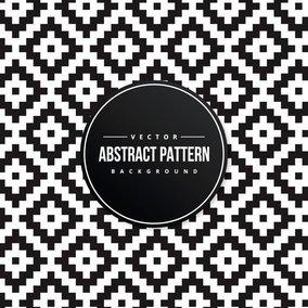 Geometric Kilim Pattern Background