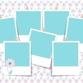 Spring Photo Collage Template