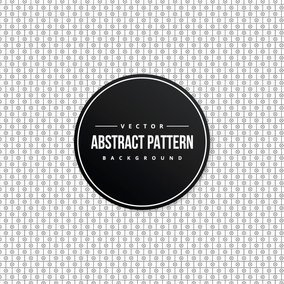 Drawn Black and White Pattern Background