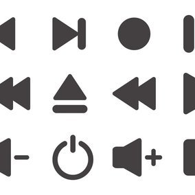 Media Player Icon Collection