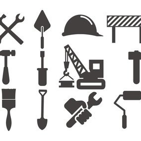 Work/Construction Icon Collection