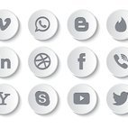 Small 1x dd social media button icon collection 64736 preview