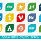 Socila Media Icon Collection