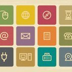 Vintage Multimedia Icon Collection