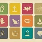 Small 1x dd vintage halloween icon collection 33092 preview