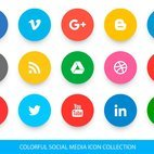 Small 1x dd colorful social media icon collection 96652 preview