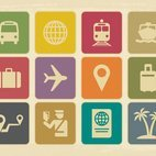 Small 1x dd vintage travel icon collection 22090 preview
