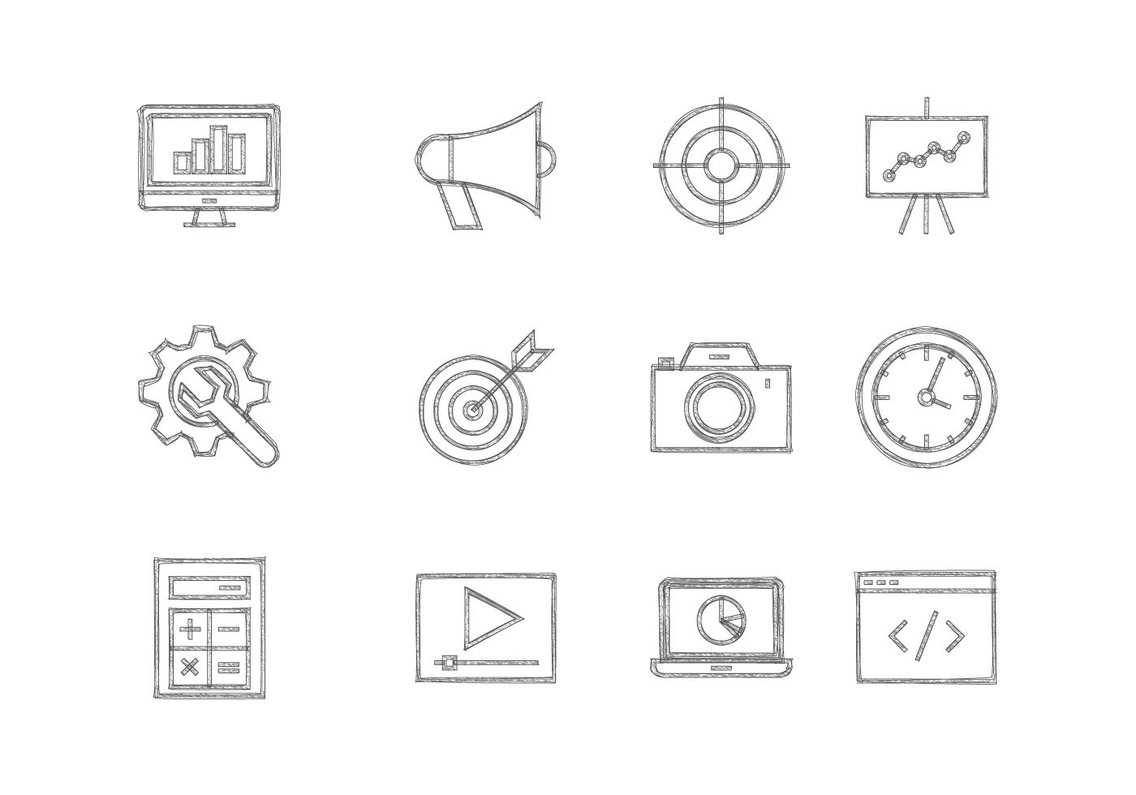Dryicons icons and vector graphics sketchy seo icon collection hexwebz Gallery