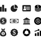Small 1x dd financial icon collection 33090 preview