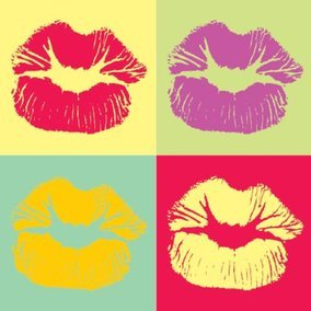 Pop Art Kiss