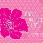 Small 1x womens day greeting