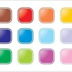 Small 1x colorful buttons