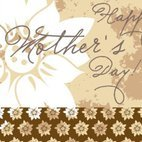 Small 1x happy mothers day card