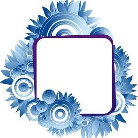 Blue laguna frame
