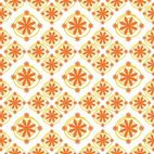 Flowers in pattern
