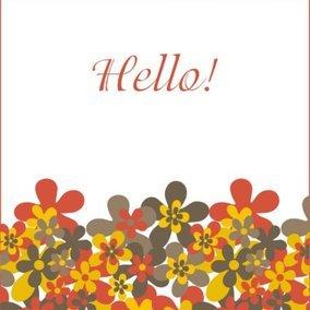 Hello greeting