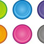 Small 1x circular buttons