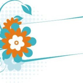 Turquoise banner