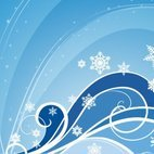 Small 1x winter background