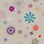 Small 1x flowers pattern