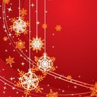 Small 1x christmas background red
