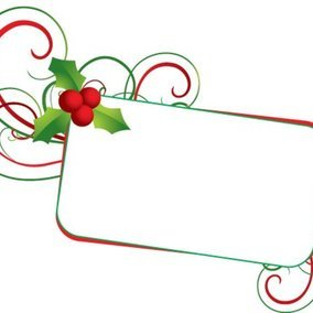 Christmas Mistletoe Banner