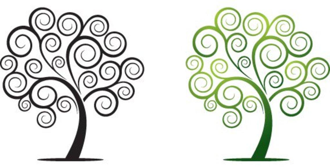 Swirly Tree - 8789 - Dryicons
