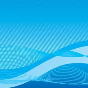 Wavy Blue Background