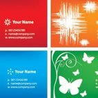 Small 1x colorful business cards