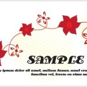 Flowery Banner Design