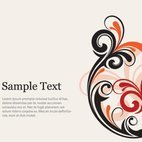 Small 1x swirly flyer